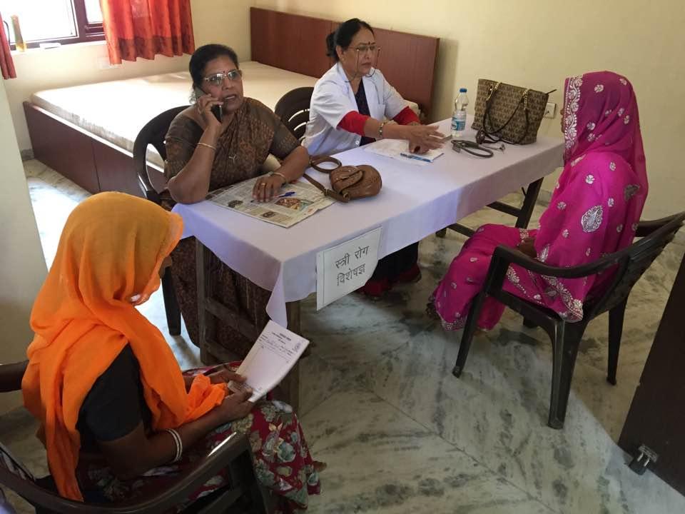 MEGA MEDICAL CAMP AT JEEVAN JYOTI JAIPUR (Best Old Age Home In Jaipur)